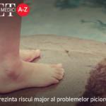 Ulcerul reprezinta riscul major al problemelor piciorului diabetic