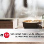 Studiu: Consumul moderat de cafea contribuie la reducerea riscului de diabet si hipertensiune