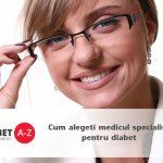 Cum alegeti medicul specialist pentru diabet