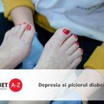 Depresia si piciorul diabetic