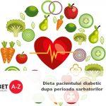 Dieta pacientului diabetic dupa perioada sarbatorilor