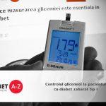 Controlul glicemiei la pacientul cu diabet zaharat tip 1