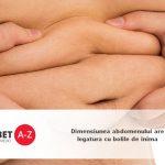 Dimensiunea abdomenului are legatura cu bolile de inima