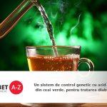 Un sistem de control genetic cu acid fenoic din ceai verde, pentru tratarea diabetului