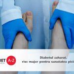 Diabetul zaharat, risc major pentru sanatatea picioarelor si povara financiara pentru sistemele de sanatate
