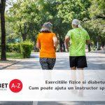 Exercitiile fizice si diabetul: Cum poate ajuta un instructor specializat