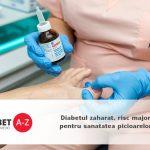 Diabetul zaharat, risc major pentru sanatatea picioarelor