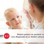 Sfaturi pentru un pacient copil nou diagnosticat cu diabet zaharat de tip 1