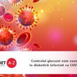 Controlul a glucozei este esential la diabeticii infectati cu COVID-19