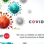 Tot ceea ce trebuie sa stiti despre noul Coronavirus si Diabet