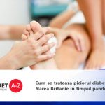 Cum se trateaza piciorul diabetic in Marea Britanie in timpul pandemiei