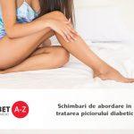 Schimbari de abordare in tratarea piciorului diabetic
