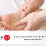 Cum se manifesta durerile de picioare cauzate de diabet?