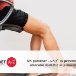 """Un partener ,,unic"""" in prevenirea ulcerului diabetic al piciorului"""