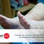 7 semne de avertizare ale durerii cauzate de leziunile nervoase diabetice