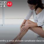Sfaturi simple pentru a avea picioare sanatoase daca suferiti de diabet