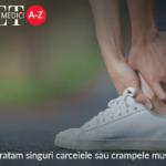 Cum tratam singuri carceiele sau crampele musculare